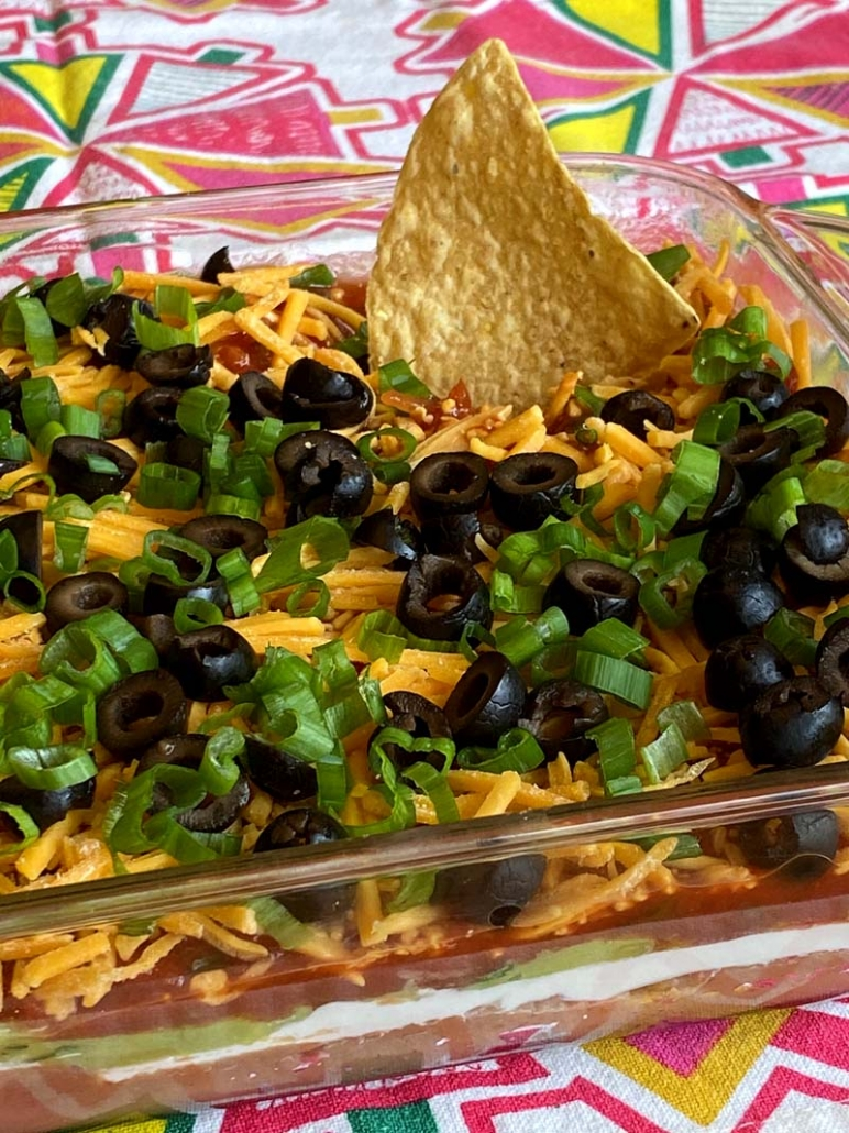 Mexican Seven Layer Dip Recipe