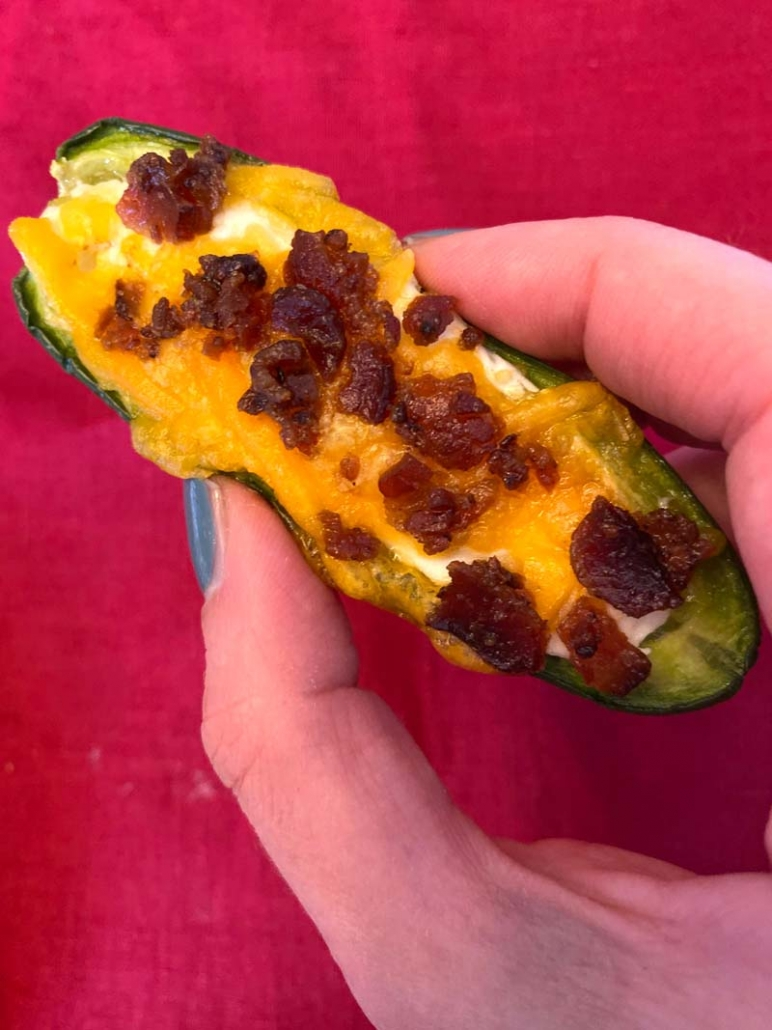low carb jalapeno poppers appetizer