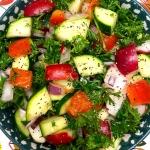 Zucchini Radish Salad