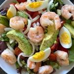 Shrimp Egg Avocado Salad
