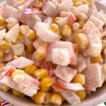 Imitation Crab And Canned Corn Salad Recipe