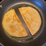 Hummus Quesadillas Without Cheese {Vegan, Dairy-Free}