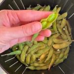 Air Fryer Frozen Edamame Recipe