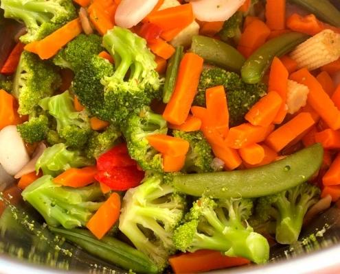 Instant Pot Frozen Vegetables