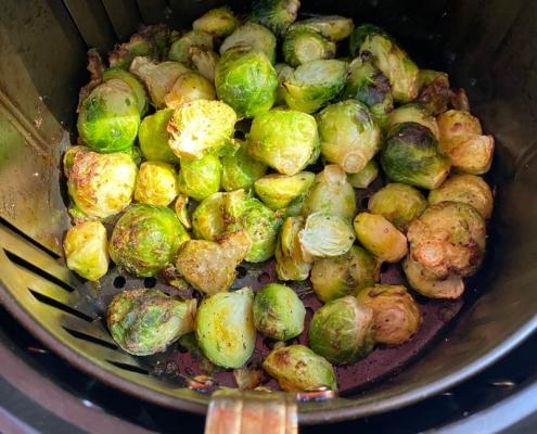 Air Fryer Frozen Brussels Sprouts