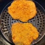 Frozen Chicken Fried Steak In The Air Fryer