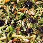 Broccoli Apple Salad - Healthy No Mayo